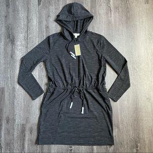 (NWT) Michael Kors Black Grey Heather Basics Dress